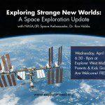 EW Hosts Space Exploration Presentation- April 22