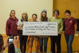 """Our """"Students for Sustainable Slopes"""" team wins the Judges Award."""