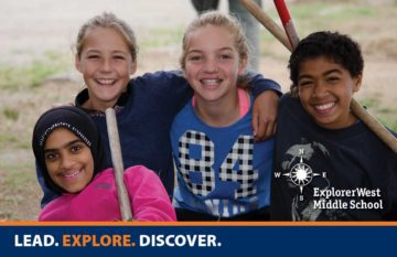 Meet students and teachers at Explorer West Open Houses.